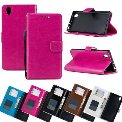 Wallet PU Leather Case Flip Stand Phone Case Cover for ASUS ZB501KL Huawei Honor