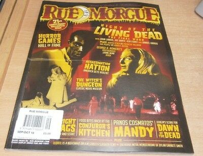 Rue Morgue magazine Sep/Oct 2018 Night of the Living Dead The Final Word & more