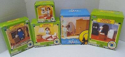 Madeline Dollhouse Doll House Furniture Living Room Kitchen Bedroom  Bathroom NEW