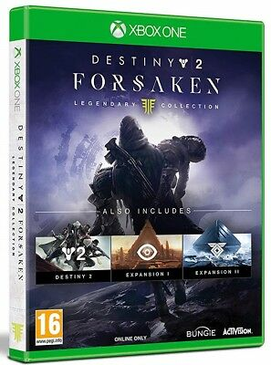 Destiny 2 Forsaken Legendary Collection - Xbox One Spiel - NEU OVP