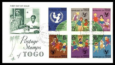 Unicef Combination 1961 Artcraft Cachet On Unsealed Fdc