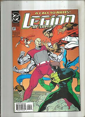 Legion Of Super-Heroes #57  A Call To Arms  Dc  1994  Nice!!!