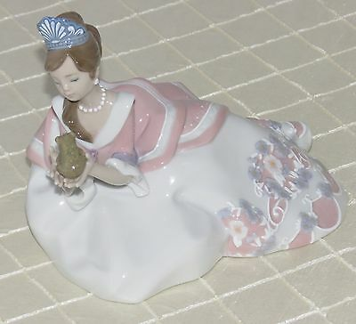 Lladro The Princess And The Frog Figurine 1008718.new In Box