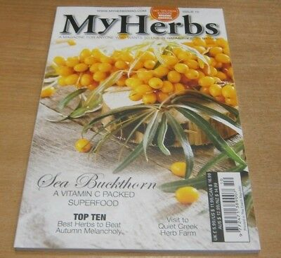 My Herbs magazine #10 2018 Sea Buckthorn + Beat Autumn Melancholy + Quiet Creek