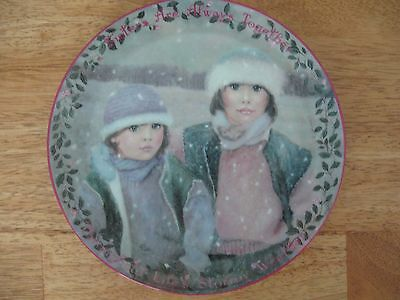The Bradford Exchange~#8 Always Together~Kindred Moments~collector plate~New COA