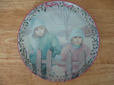 Bradford Exchange~#12 Sisters Wish on the Same Star~Kindred Moments~coll. plate