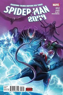 SPIDER-MAN 2099 #12, New, First Printing, Marvel (2016)