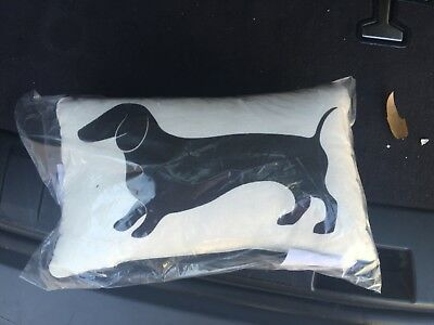 Weiner Dog Accent Pillow double sided