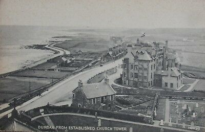 Dunbar From Established Church Tower East Lothian Early Pc