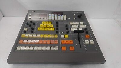 Sony BVS-3100 Video Switcher Editor Master Controller