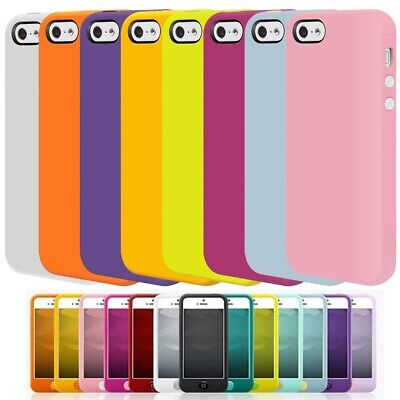 Silicone TPU Tough Case Cover for iPhone 5/5S/SE Colors by SwitchEasy