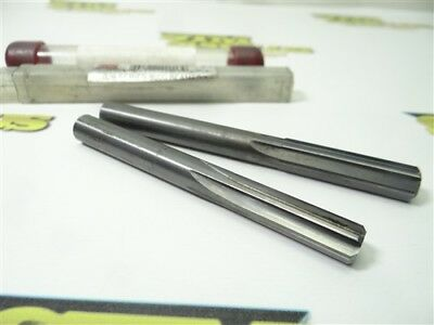 """Pair Of Solid Carbide Chucking Reamers 3/8"""" & 13/32"""" Imco"""