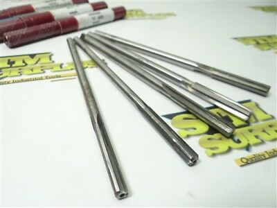 """5Pc Carbide Tipped Letter Chucking Reamers """"c"""", """"f"""", """"m"""" & """"o"""" Lex. & R.r.t."""