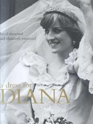 NEW A Dress for Diana By David Emanuel Hardcover Free Shipping
