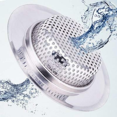 4.5 Inch Diameter  Stainless Steel Kitchen Sink Basket Strainer, Large Pack of 2