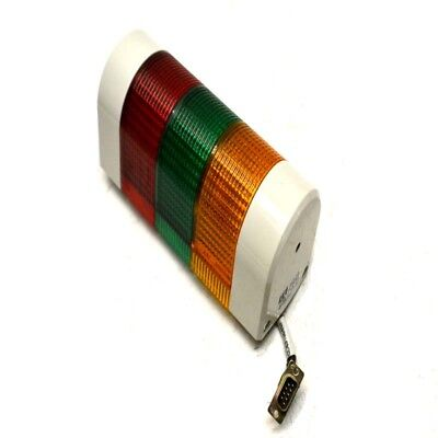 Patlite WME-FBEN Red/Green/Amber Stack Light Wall Mount Signal Tower