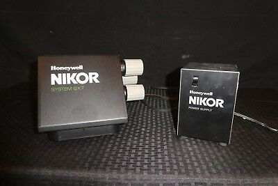 Nikor Honeywell 6x7 Film Vintage Dark Room System (390)