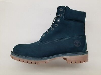 TIMBERLAND 6 INCH Premium Double Sole Green Mens Limited