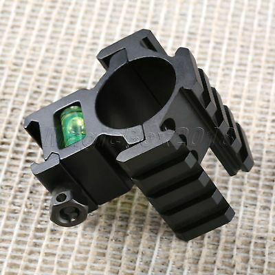 Caliber Scope Ring Stand Use Picatinny Rail Extended Tri Rail Mount Bubble Level