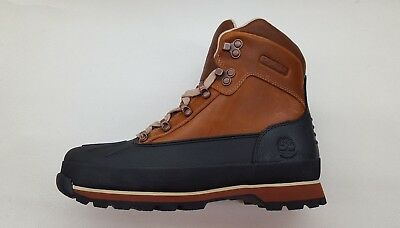 816b57c9881 TIMBERLAND EURO HIKER Shell Toe Burnt Orange Leather Mens Waterproof Boots  A18Dd