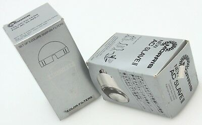 Morris New AC Slave II w/ Color Filters in boxes works 393374