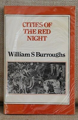 Cities of the Red Night - William Burroughs 1st UK Edition Calder 1981