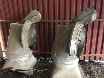 Two metal Barn Cupolas. 2.5 ft wide x 5 ft tall. Good condition.