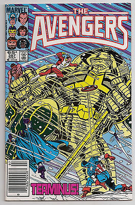 The Avengers 257 VFNM 1st Nebula Guardians of the Galaxy Newsstand Marvel Comics