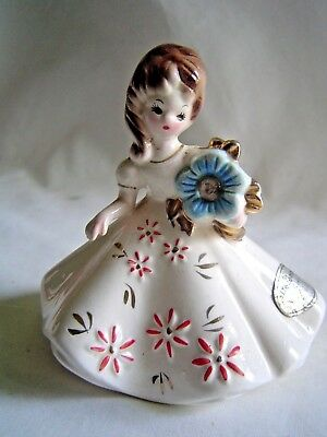 Vintage Josef Originals December Birthday Girl Figurine