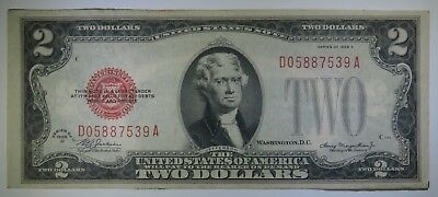 1928-D $2 United States Two Dollar Note