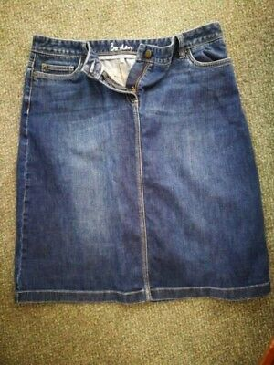 Great condition BODEN Denim Skirt Size 16