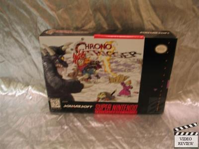 Chrono Trigger Super Nintendo Complete With 2 Posters RARE SNES