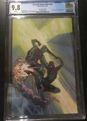 CGC 9.8 Amazing Spider-Man #798 Alex Ross Virgin Edition 1:100 1st Red Goblin