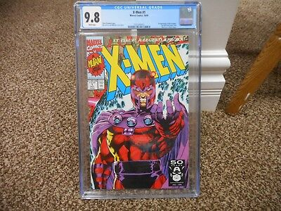 X-Men 1 cgc 9.8 Marvel 1991 Magneto cover 1st appearance Acolytes Jim Lee MINT