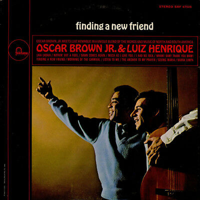 Oscar Brown Jr. & Luiz Henrique - Finding A Ne (Vinyl LP - 1966 - US - Original)