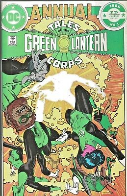 Tales Of The Green Lantern Corps Annual #1  Gil Kane Giant-Size  1985 Nice!!