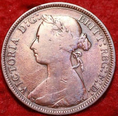 1884 Great Britain 1/2 Penny Foreign Coin