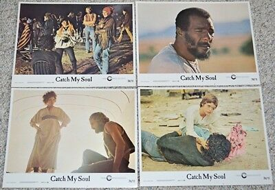 Patrick McGoohan's CATCH MY SOUL 1974 ORIG. 11x14 LOBBY CARD SET! SHAKESPEARE!