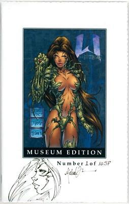Witchblade 1/2 Sketch Premium Museum Edition Signed Michael Turner Artwork Coa 1