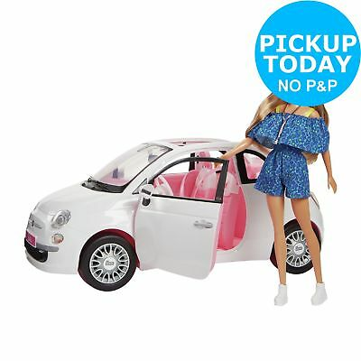 Barbie Fiat Car and Doll Exclusive.