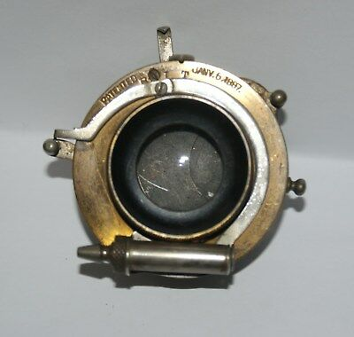 Of Some Age Unknown Make Of Camera Shutter Patented Jan 5 1887 Stamped On It.
