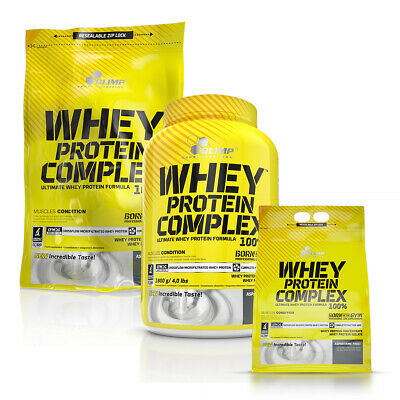 Olimp PURE WHEY PROTEIN COMPLEX 100% 600g 700g 1.8kg 2.2kg BUILD MUSCLE MASS
