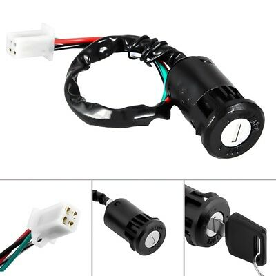 Motorcycle Ignition Barrel Key Switch 2 Wire Universal On/Off Car Motorbike