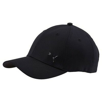 BERRETTO Puma Cappellino Metal Cat Cap 021269 01 Black cappello nero 494c8229e757