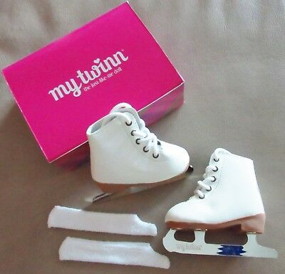 "New My Twinn Figure Skates, Ice Skates for 23"" Poseable MT Doll"