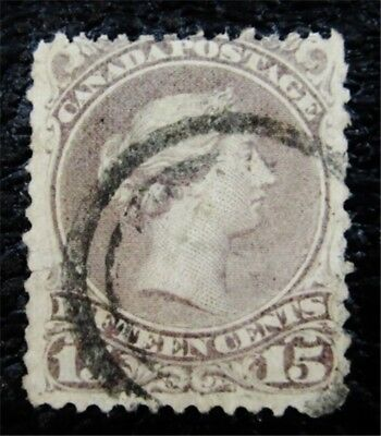 nystamps Canada Stamp # 29c Used $1250 WMK Rare