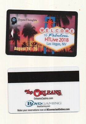 """new release---""""Hypno Thoughts Live""""--The Orleans --Las Vegas,NV----Room key"""