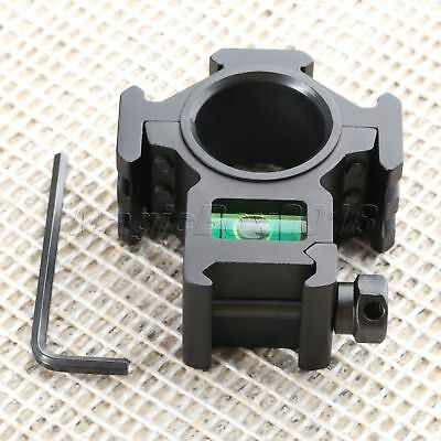 Rifle Stand Picatinny Rail Holding Scope Mount Ring Spirit Bubble Level Gasket