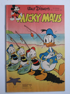MICKY MAUS  Band 8 1952  Ehapa GB 1952  guter Zustand  2