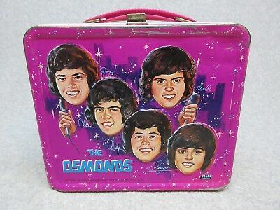1973 The OSMONDS PoP Rock Music Tv LUNCHBOX C#8  Donny & Brothers Osmond